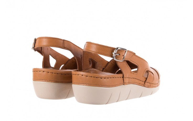 Sandały bayla-112 0348-3003 tan, brąz, skóra naturalna  - bayla - nasze marki 3
