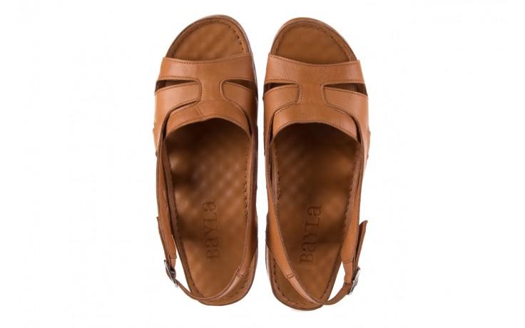 Sandały bayla-112 0348-3003 tan, brąz, skóra naturalna  - bayla - nasze marki 4