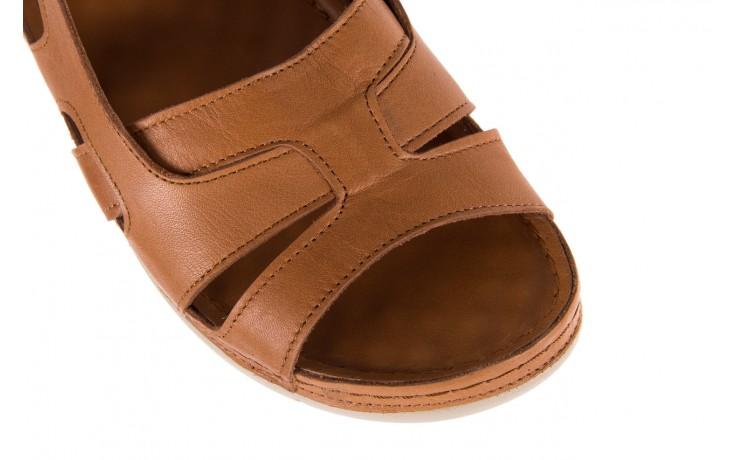 Sandały bayla-112 0348-3003 tan, brąz, skóra naturalna  - bayla - nasze marki 6