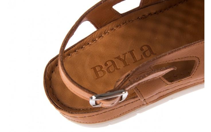Sandały bayla-112 0348-3003 tan, brąz, skóra naturalna  - bayla - nasze marki 7