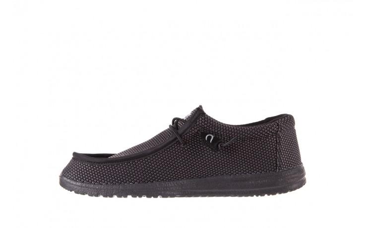 Półbuty heydude wally sox black, czarny, materiał  - heydude - nasze marki 2
