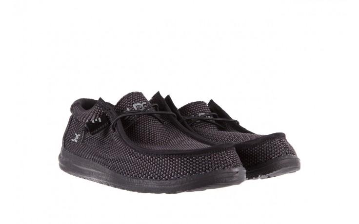 Półbuty heydude wally sox black, czarny, materiał  - heydude - nasze marki 1