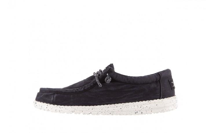 Półbuty heydude wally washed black, czarny, materiał - sportowe - półbuty - buty męskie - mężczyzna 2