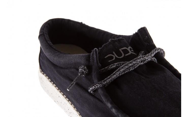 Półbuty heydude wally washed black, czarny, materiał - sportowe - półbuty - buty męskie - mężczyzna 5