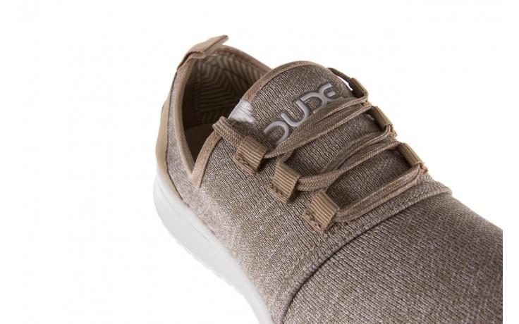 Półbuty heydude relay sox beige, beż, materiał - sportowe - półbuty - buty męskie - mężczyzna 5
