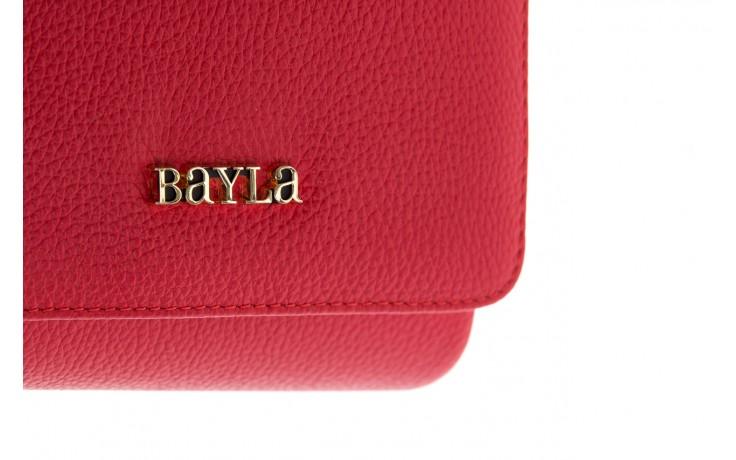 Torebka bayla-165 torebka skórzana camilla czerwona, skóra naturalna  - bayla - nasze marki 3