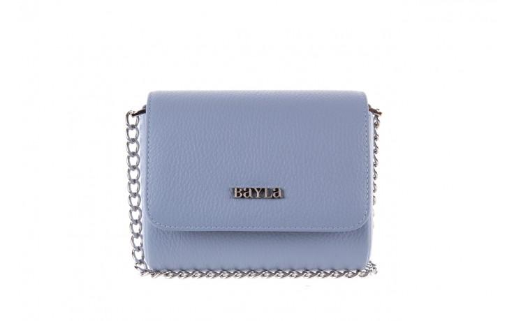 Bayla-165 torebka skórzana camilla niebieska - bayla - nasze marki
