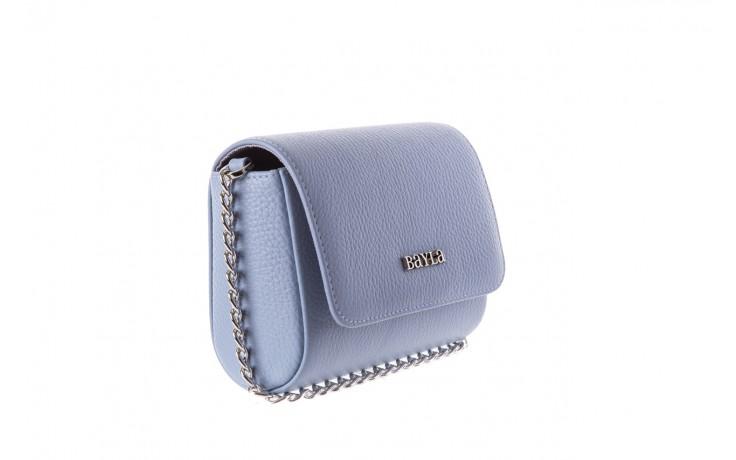 Bayla-165 torebka skórzana camilla niebieska - bayla - nasze marki 1