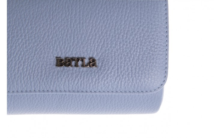 Bayla-165 torebka skórzana camilla niebieska - bayla - nasze marki 3