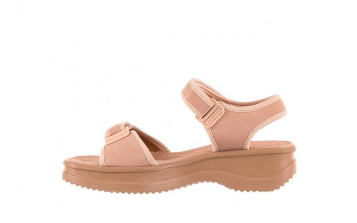 Sandały azaleia 320 750 nobuck nude, beż, materiał  - azaleia - nasze marki 2