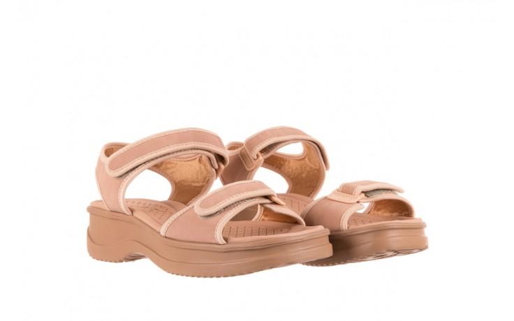 Sandały azaleia 320 750 nobuck nude, beż, materiał  - azaleia - nasze marki 1