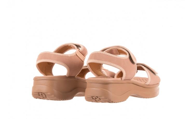 Sandały azaleia 320 750 nobuck nude, beż, materiał  - azaleia - nasze marki 3