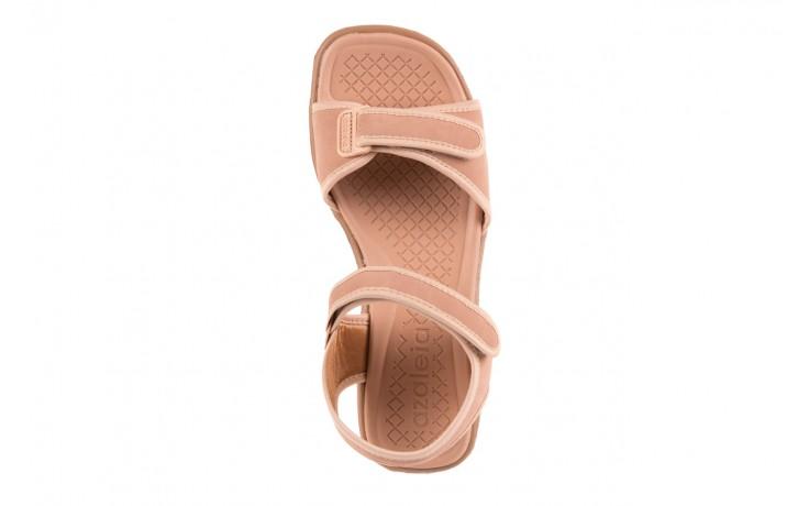 Sandały azaleia 320 750 nobuck nude, beż, materiał  - azaleia - nasze marki 4