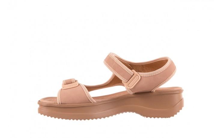 Sandały azaleia 320 751 nobuck nude, beż, materiał  - azaleia - nasze marki 2
