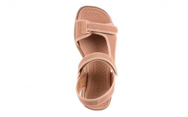 Sandały azaleia 320 751 nobuck nude, beż, materiał  - azaleia - nasze marki 4