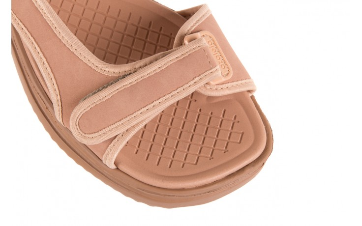 Sandały azaleia 320 751 nobuck nude, beż, materiał  - azaleia - nasze marki 5