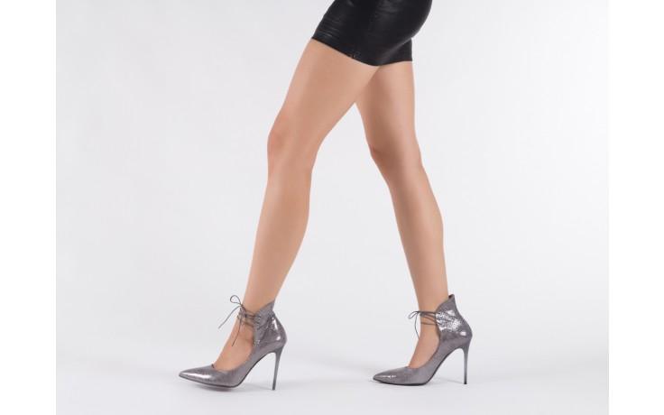 Szpilki bayla-097 z6940-447 czarny, skóra naturalna - obuwie excl 10 - kobieta - nieprzecenione 6