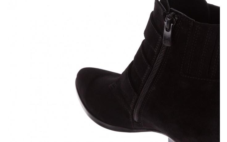Botki bayla-177 b19117 czarne botki, skóra naturalna - dla niej  - sale 8