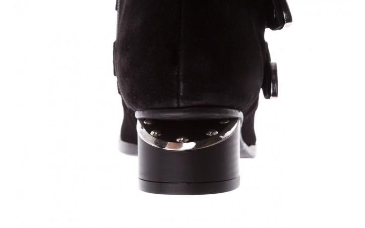 Botki bayla-177 b19117 czarne botki, skóra naturalna - dla niej  - sale 9