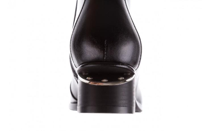 Botki bayla-177 b19118 czarne botki licowe, skóra naturalna - bayla - nasze marki 8