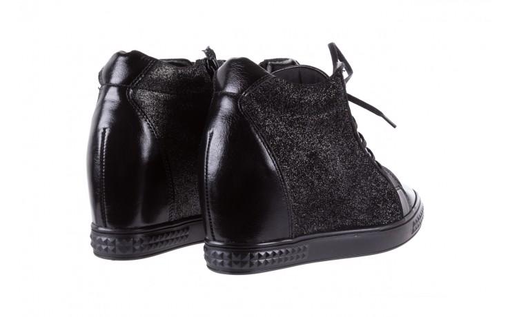 Sneakersy bayla-154 w-781 czarny, skóra naturalna 3