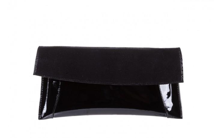Torebka bayla-097 torebka koperta sandra czarny-lakier-czarny tejus, skóra naturalna lakierowana - halloween do -30%