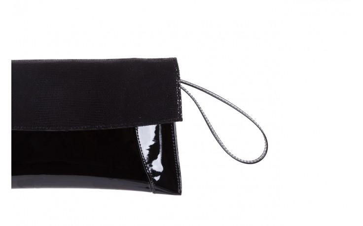 Torebka bayla-097 torebka koperta sandra czarny-lakier-czarny tejus, skóra naturalna lakierowana - halloween do -30% 2