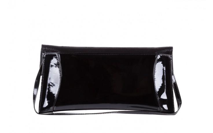 Torebka bayla-097 torebka koperta sandra czarny-lakier-czarny tejus, skóra naturalna lakierowana - halloween do -30% 3