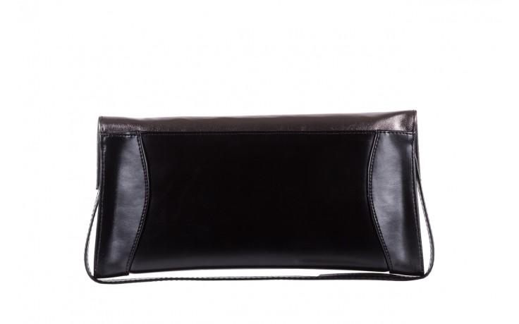 Torebka bayla-097 torebka koperta sandra czarno-srebrna, skóra naturalna  - akcesoria - kobieta 3