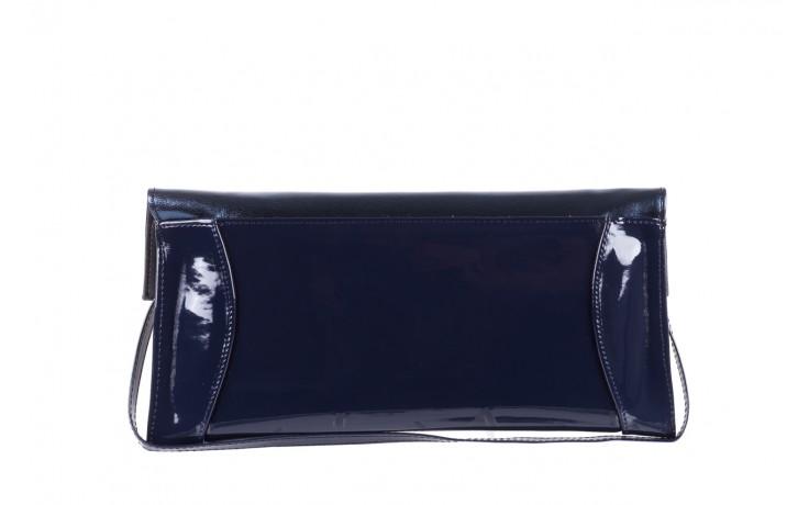 Torebka bayla-097 torebka koperta sandra granat-granat metallic, skóra naturalna lakierowana - bayla - nasze marki 3