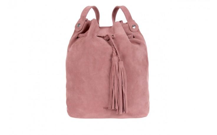 Bayla-125 skórzany worek prato pudrowy róż - bayla - nasze marki