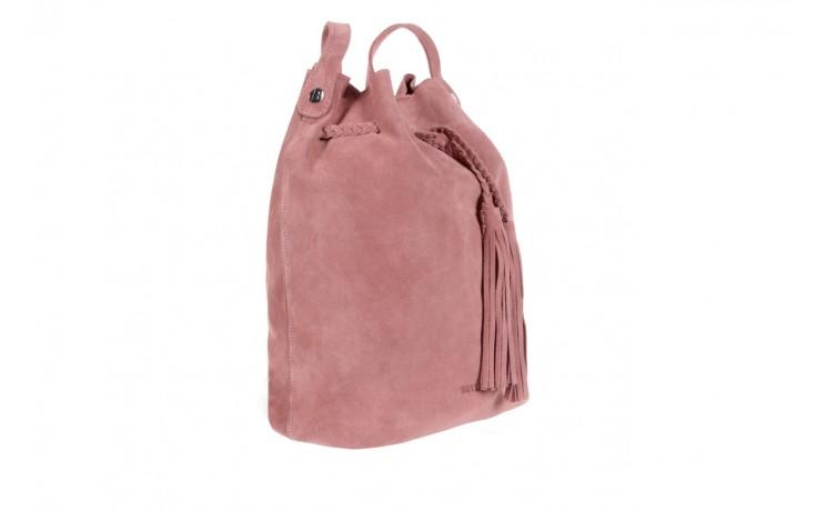 Bayla-125 skórzany worek prato pudrowy róż - bayla - nasze marki 1