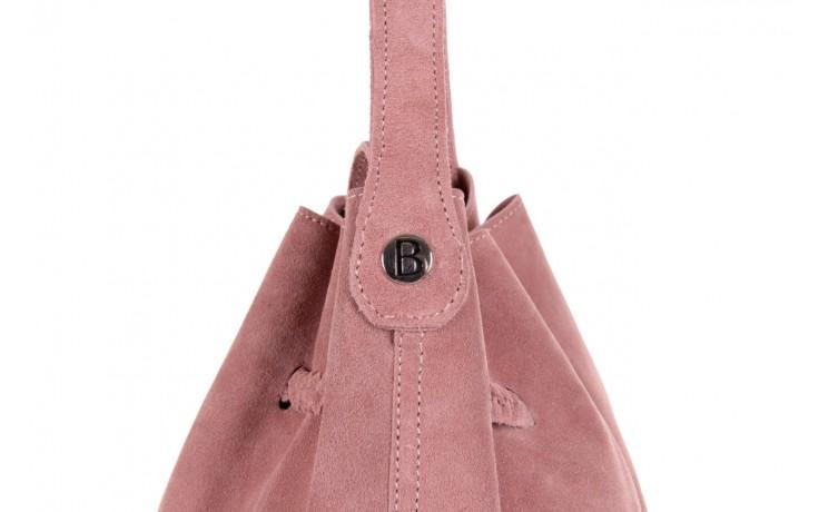 Bayla-125 skórzany worek prato pudrowy róż - bayla - nasze marki 4