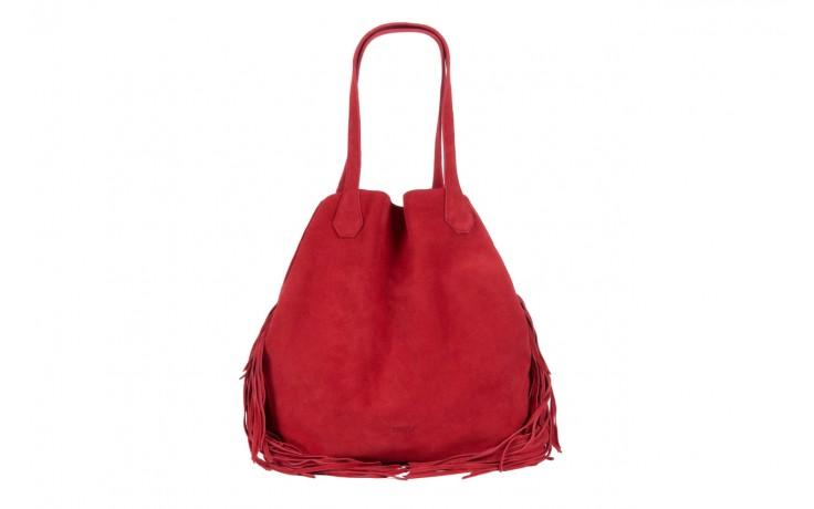 Bayla-125 torebka skórzana katania czerwona - bayla - nasze marki