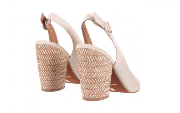 Sandały bayla-067 113216 vegatal vanilla, beż, skóra naturalna  - bayla - nasze marki 3