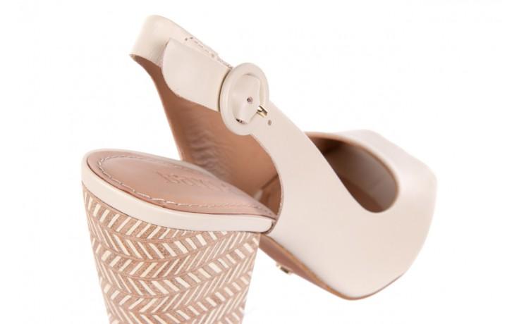 Sandały bayla-067 113216 vegatal vanilla, beż, skóra naturalna  - bayla - nasze marki 5