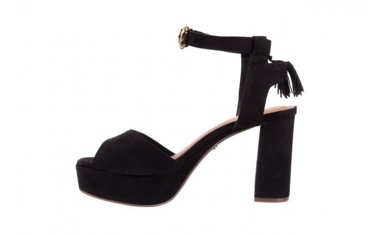 Sandały bayla-067 129006 nobuck black, czarny, skóra naturalna  - na platformie - sandały - buty damskie - kobieta 2