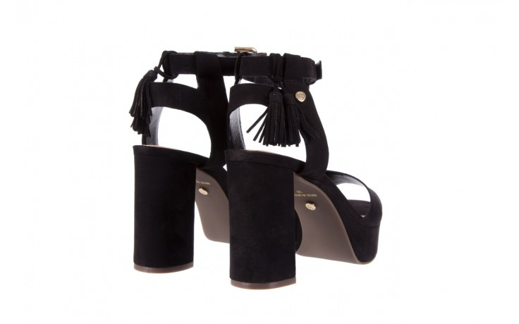Sandały bayla-067 129006 nobuck black, czarny, skóra naturalna  - na platformie - sandały - buty damskie - kobieta 4