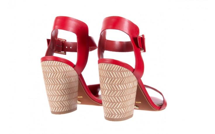 Sandały bayla-067 113215 vegetal red, czerwony, skóra naturalna  - bayla - nasze marki 4