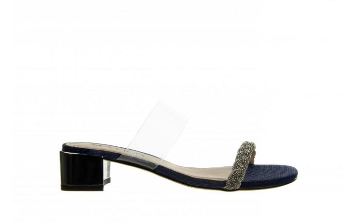 Klapki sca'viola b-204 d blue 047179, granat, silikon  - klapki - buty damskie - kobieta