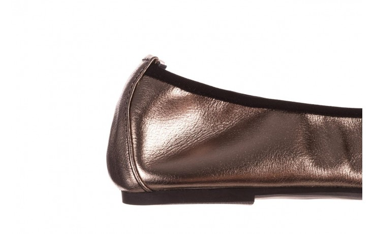 Baleriny viscala 11870.21 platynowy, skóra naturalna - skórzane - baleriny - buty damskie - kobieta 9