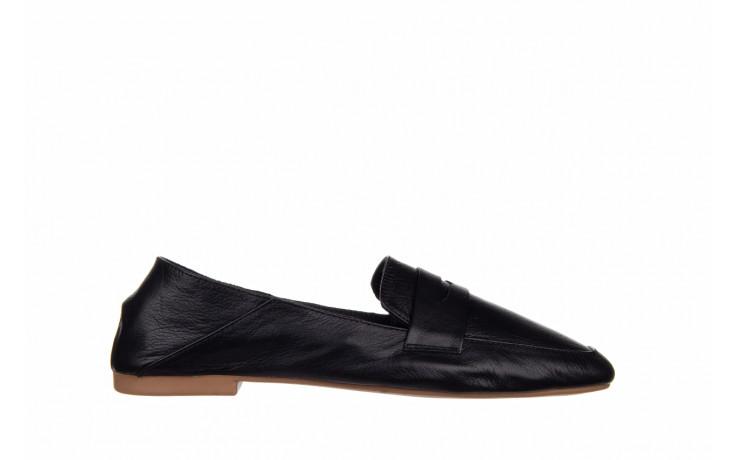 Półbuty bayla-161 138 4060 black 161222, czarny, skóra naturalna  - wsuwane - półbuty - buty damskie - kobieta