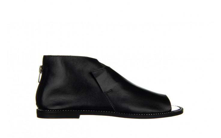 Sandały bayla-194 9768 08 czarny 194008, skóra naturalna  - nowości