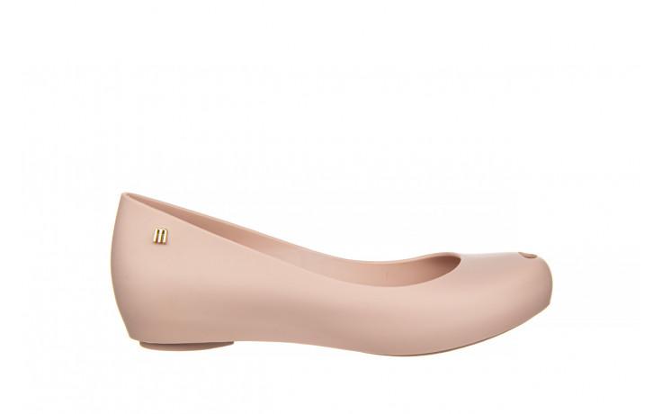 Baleriny melissa ultragirl basic ad light pink 21 010373, róż, guma  - gumowe - baleriny - buty damskie - kobieta
