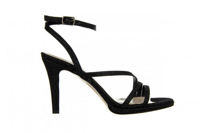 Sandały bayla-187 587-1115 black 187015, czarny, skóra ekologiczna  - sandały - buty damskie - kobieta