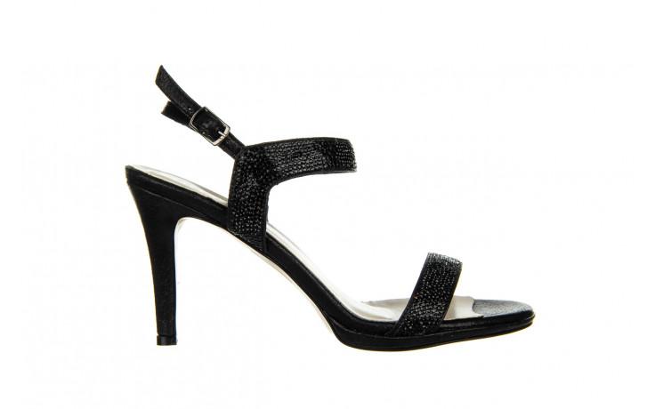 Sandały bayla-187 587-536 black 187019, czarny, skóra ekologiczna  - sandały - buty damskie - kobieta