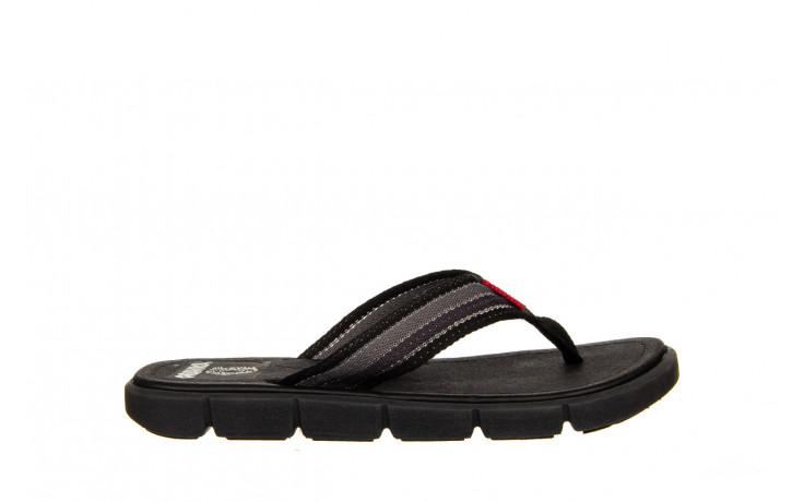 Klapki azaleia 451-op450 black, czarny, materiał  - azaleia - nasze marki