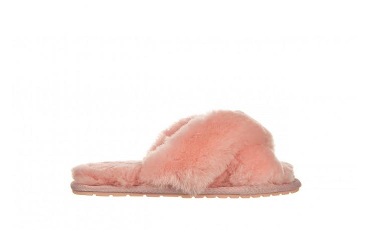 Kapcie emu mayberry baby pink 119132, róż, futro naturalne  - nowości