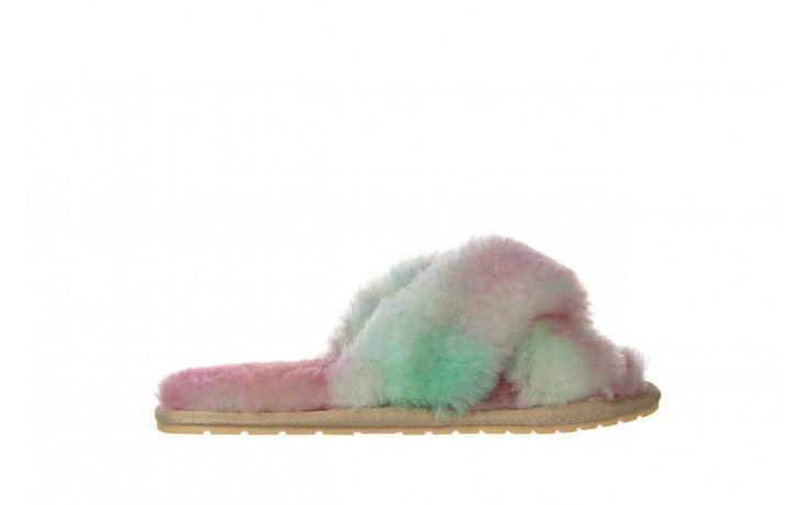 Kapcie emu mayberry tie dye fairly floss 119137, róż, futro naturalne  - nowości