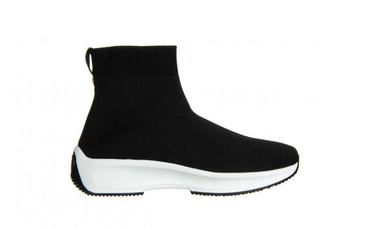 Sneakersy sca'viola l-16 black 047195, czarny, materiał - jesień-zima 2020/2021